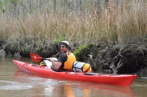 Wyatt 2012 - paddling the Altamaha.